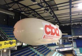 Zeppelin ballon publicitaire radiocommandé drône